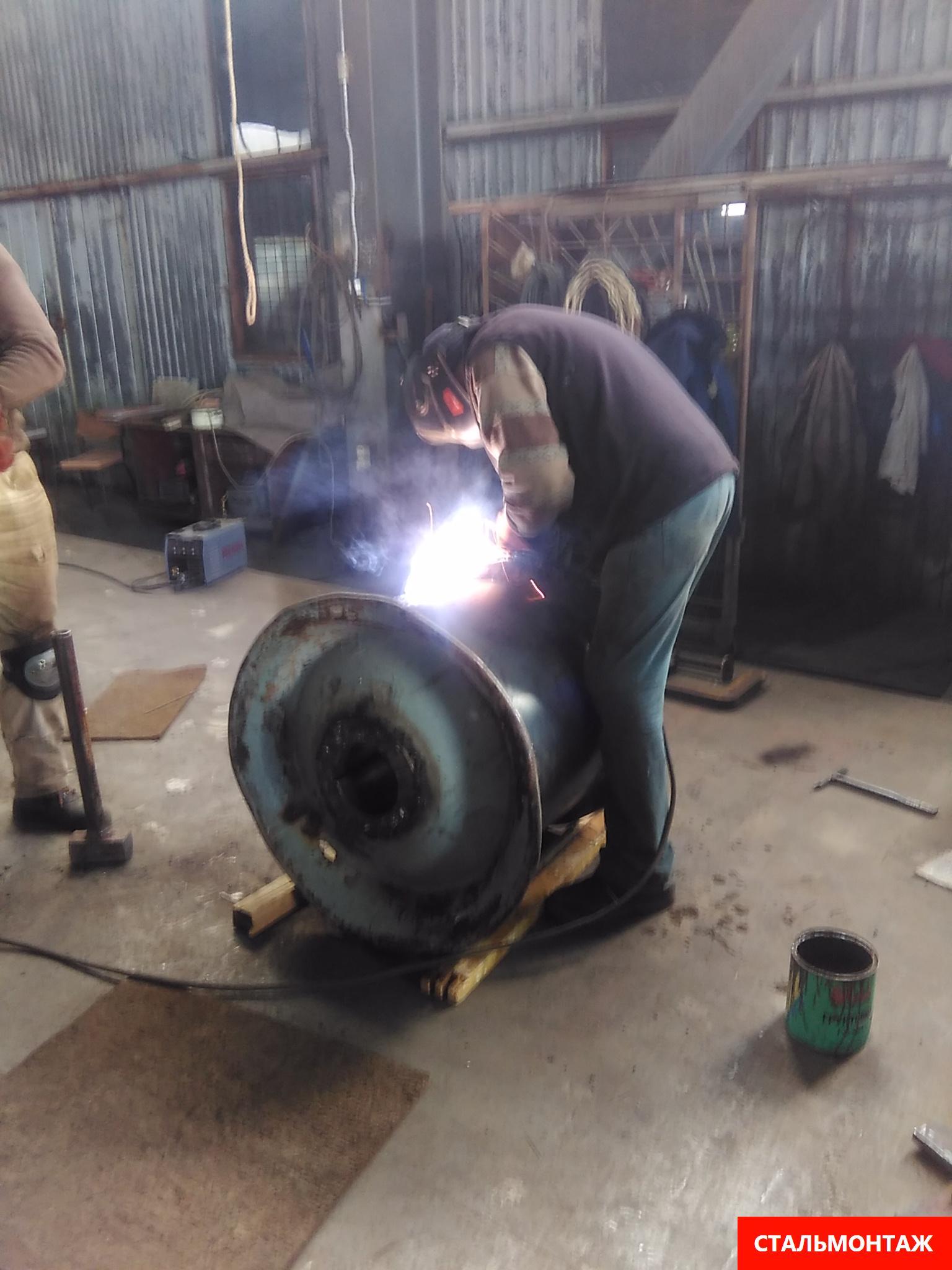 Сварка металлоконструкций на производстве