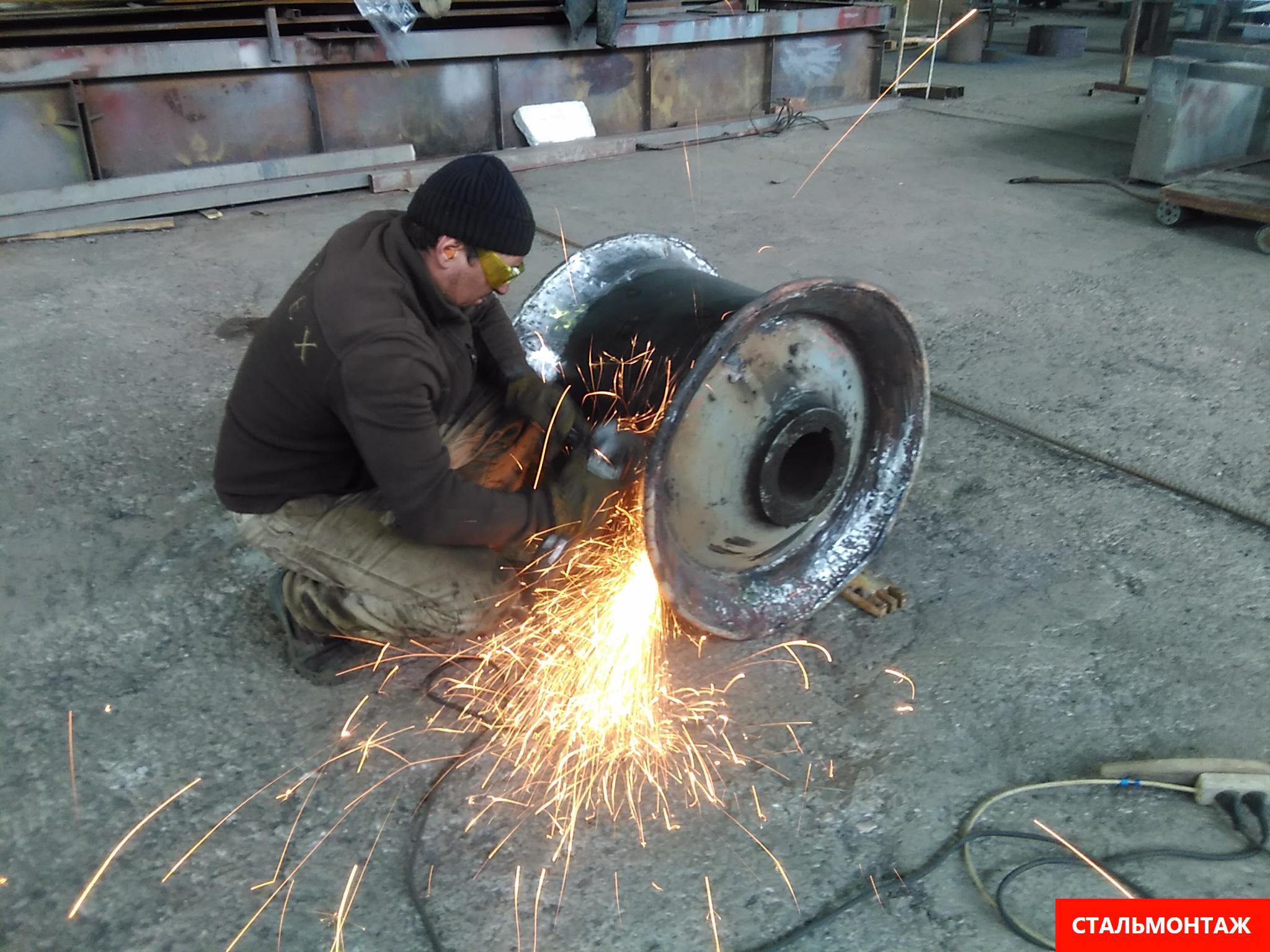 Изготовление металлоконструкций на производстве