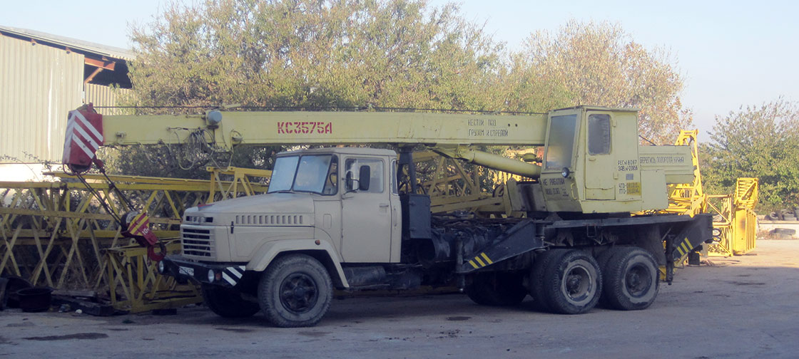 Аренда автомобильного крана в Севастополе