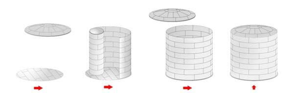 изготовление  резервуара схема