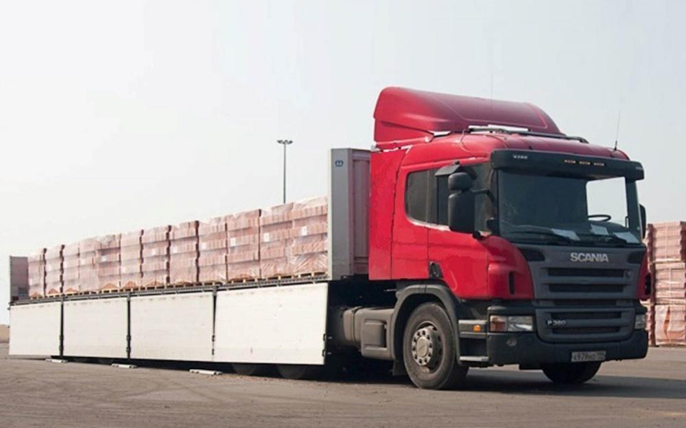 Шаланда для перевозки длинномерных грузов